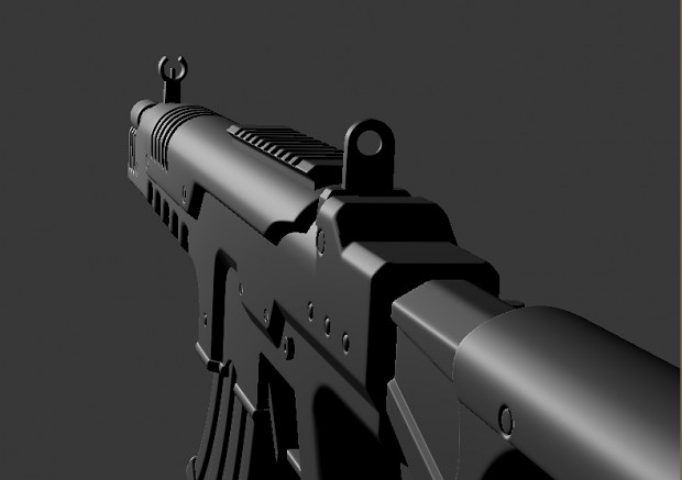 Some WIP Screenshots of AR468 Rifle