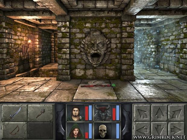Legend of Grimrock Early Screenshots