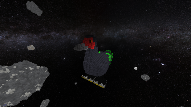 Richard the space duck!