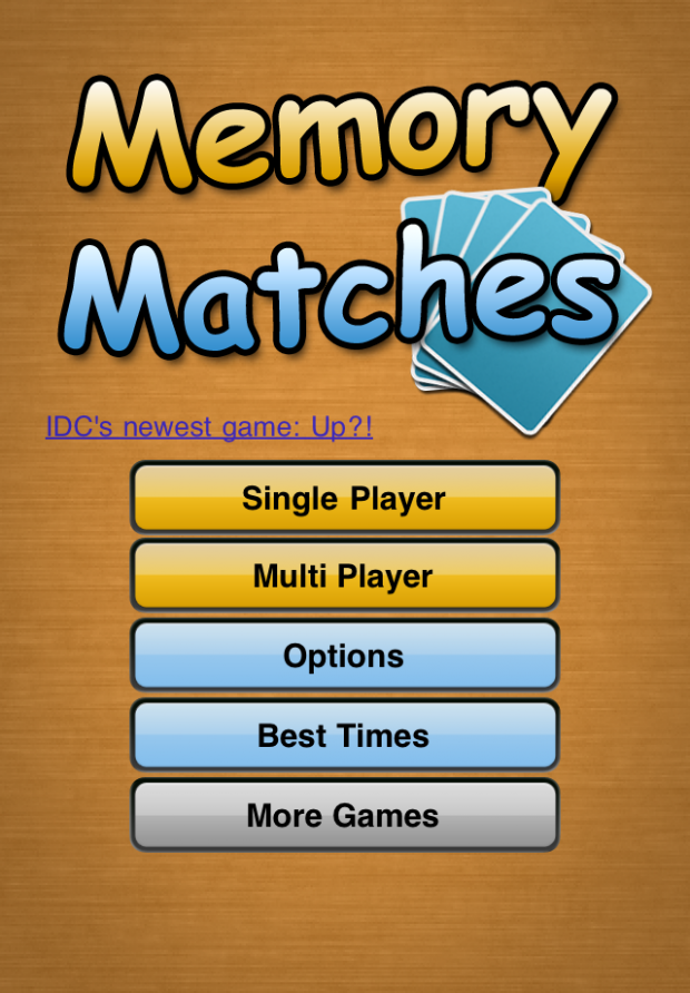 Memory Matches Screenshots