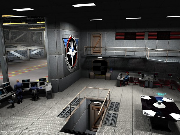 TCS Hermes' pilot's ready room