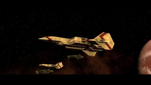Leaving orbit of Freya II