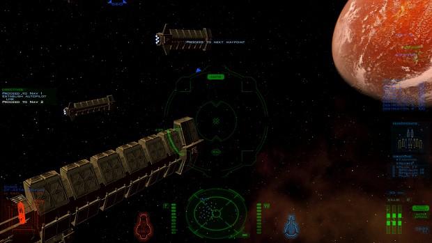 Entering orbit of Freya II