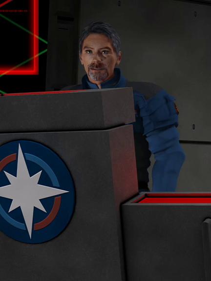 """Colonel Shane Walker, callsign """"Ranger"""""""