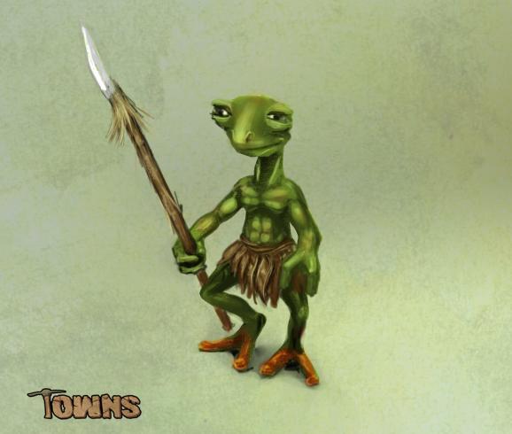 Froggy concept art