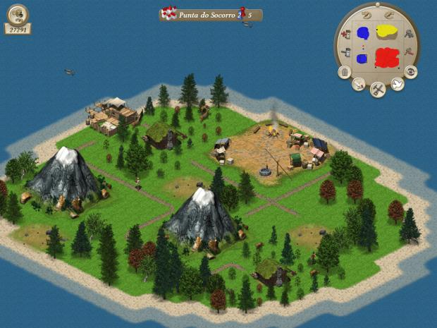AI, feeder island