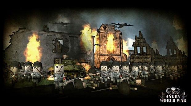 Axis soldiers are coming!