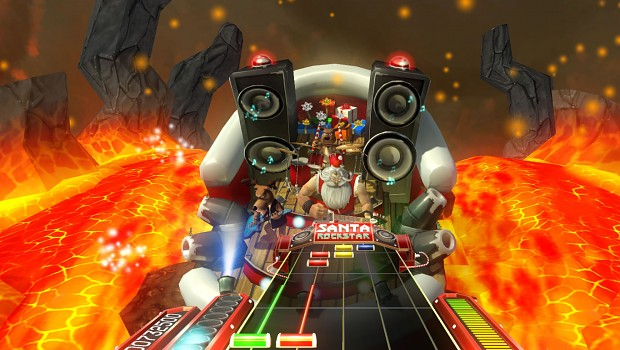 Santa Rockstar HD screenshots