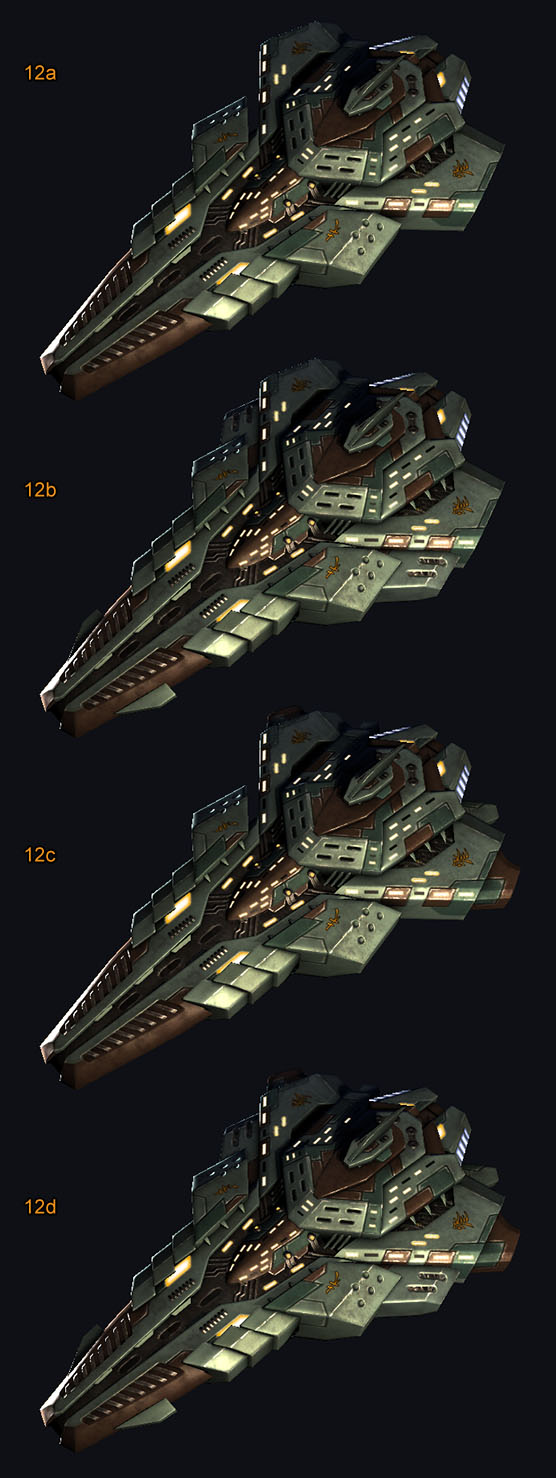 Ship Examples -- Alien Capital ships