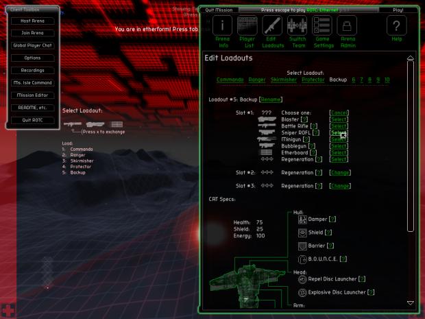 Prototype 5 Screenshots
