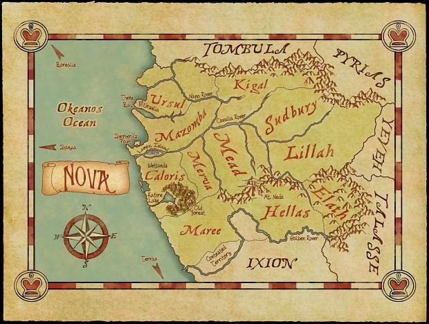 Map of Nova