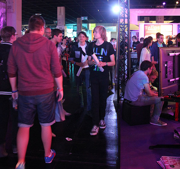 Gamescom Megabooth