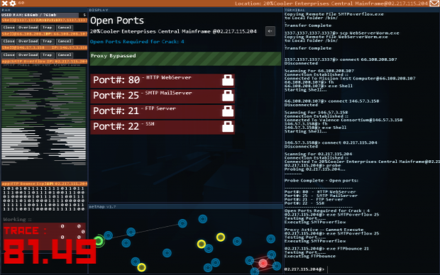 Hacknet Alpha Screens