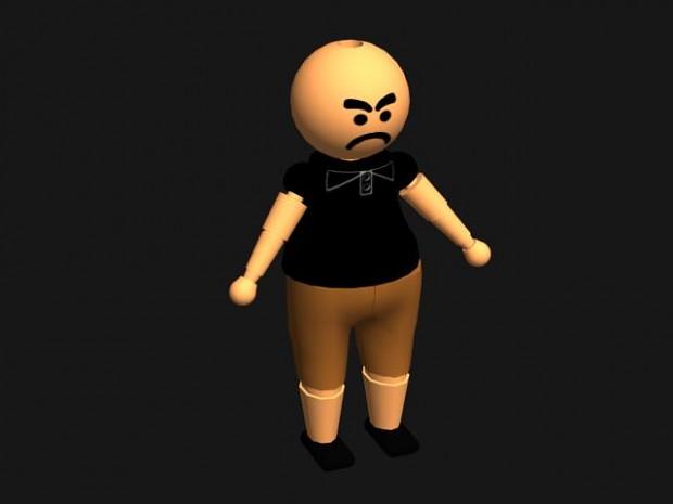 Character types renders