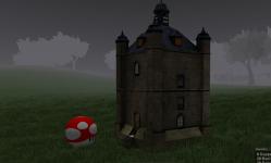 Mushroom Grass Tower