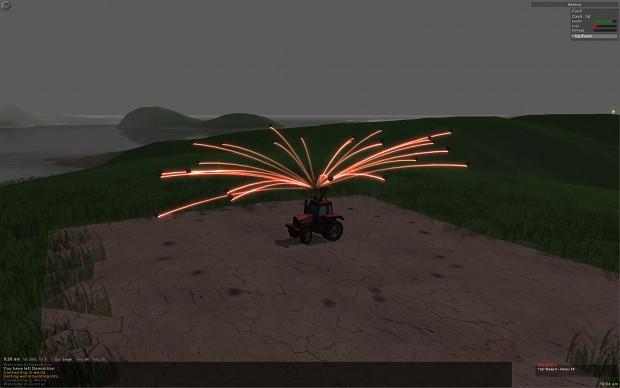 Guntrac - tractors with guns, naturally