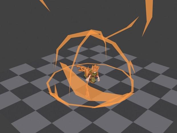 Player animating
