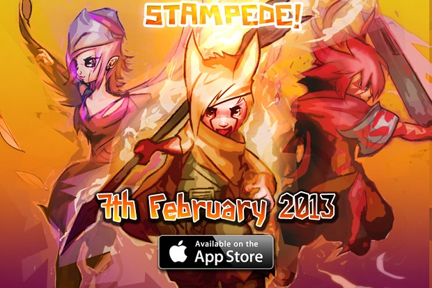 Stampede 3D out now on the App Store!