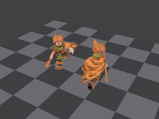 Player animating