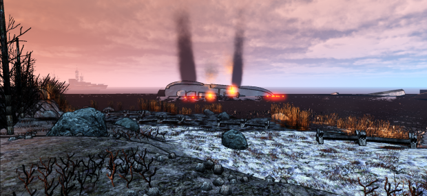 New screenshots showing the altered visual style