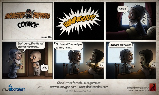 Monster of Puppets Comics #4