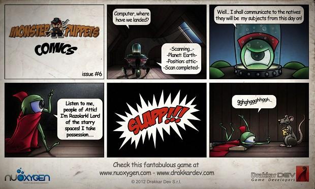 Monster of Puppets Comics #6