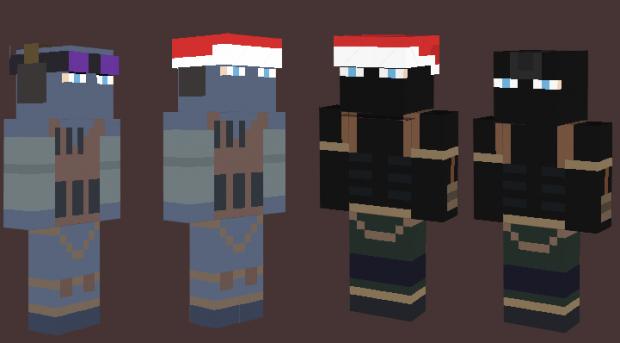 minecraft skins mod