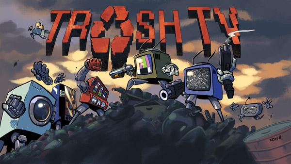 Trash TV concept