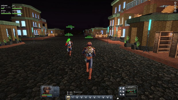 Planet Explorers multiplayer