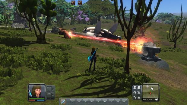 Planet Explorers alpha 0.5 screens