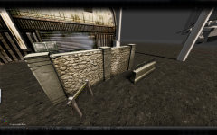 Concrete fences/concrete