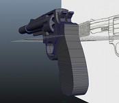 3D Model Revolver from Concept Art