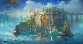 Concept Art for the Magical Kingdom, Vallia