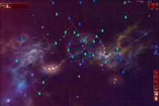 Gun and laser battle