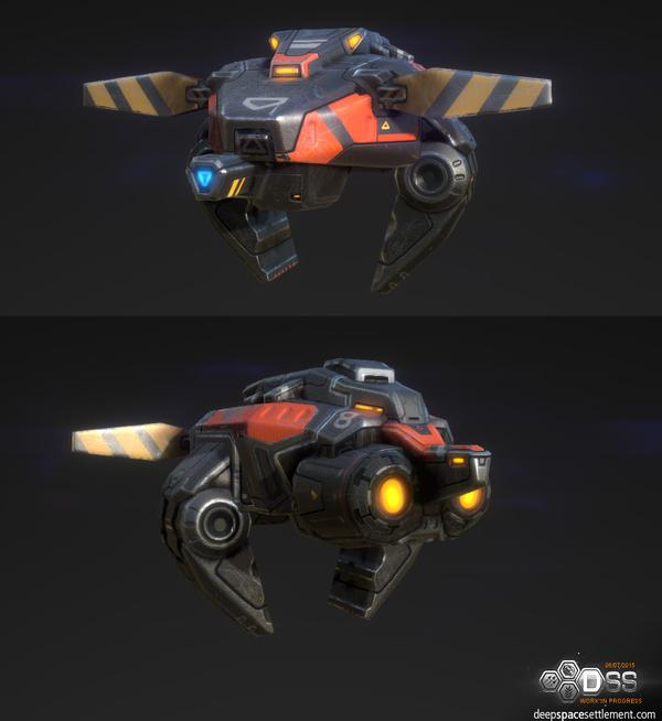 Mining Drone (without cargo)