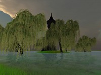 Swamps + tower + goblin