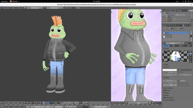 Frogman Elmore 3D