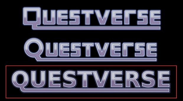 Questverse Vectorized Titles