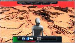 Mars like Planet View