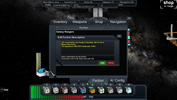 StarMade Faction Update