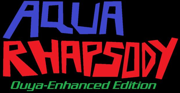 """""""Aqua Rhapsody: Ouya-Enhanced Edition"""" Teaser Logo"""