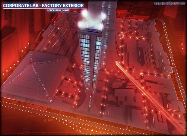 Corporate Lab - Exterior