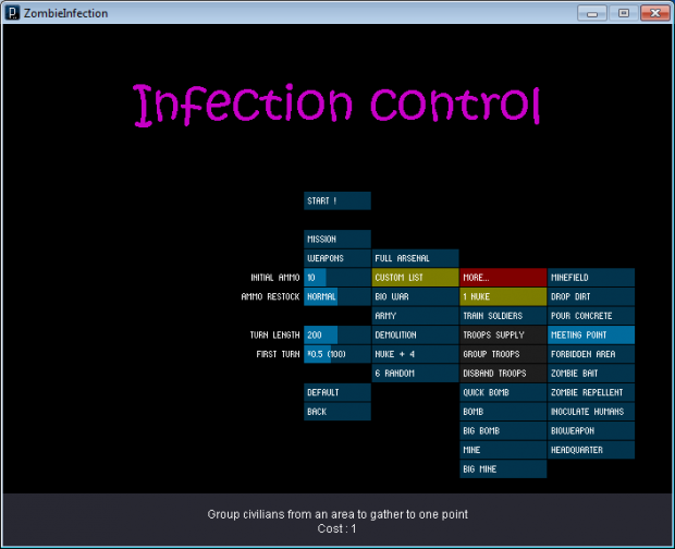 Zombie infection V 1.3