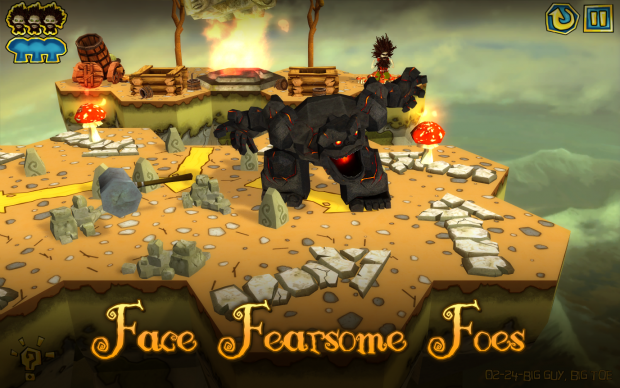 Face fearsome foes!