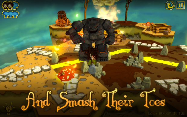 Smash your enemies' toes!