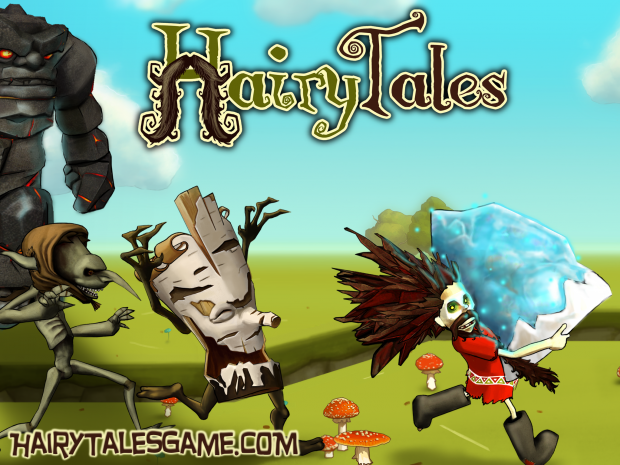 Hairy Tales Launch wallpaper