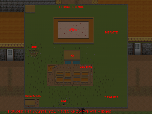 In Game Overworld Map Added