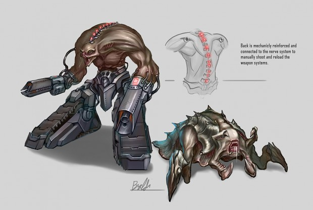 Two concepts of alien characters