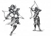 Archeress Concept Art