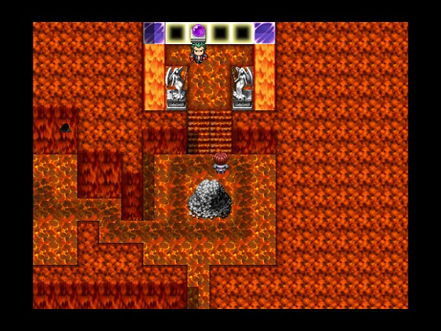 lava island dungeon